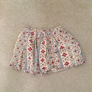Forever21 Tribal/Aztec Print Mini Skirt